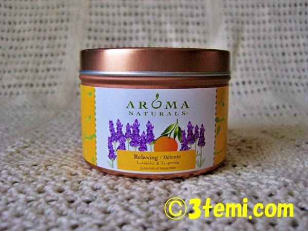 aroma naturals天然アロマキャンドル